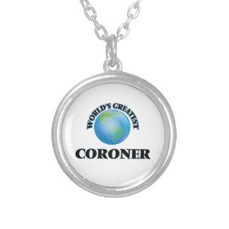 World's Greatest Coroner Custom Jewelry