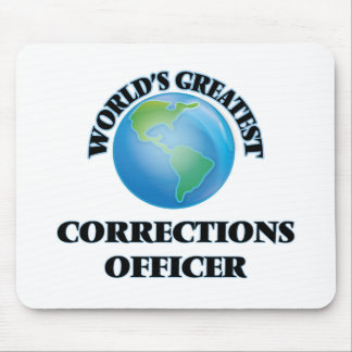 World's Greatest Corrections Officer Mouse Pads