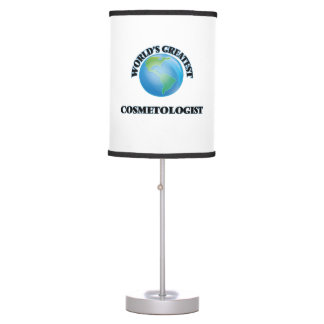 World's Greatest Cosmetologist Desk Lamp