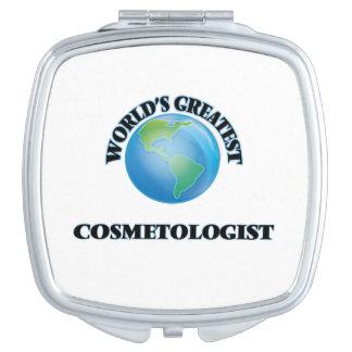 World's Greatest Cosmetologist Travel Mirror