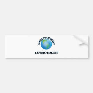 World's Greatest Cosmologist Bumper Sticker