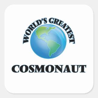 World's Greatest Cosmonaut Stickers