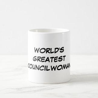 """World's Greatest Councilwoman"" Mug"
