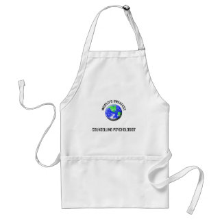 World's Greatest Counselling Psychologist Adult Apron