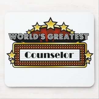 World's Greatest Counselor Mouse Pad