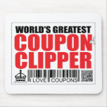 World's Greatest Coupon Clipper Mouse Pad