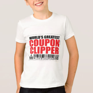World's Greatest Coupon Clipper T-Shirt