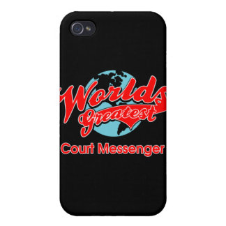 World's Greatest Court Messenger iPhone 4/4S Cases
