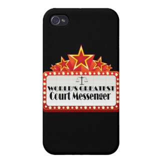 World's Greatest Court Messenger iPhone 4 Cover