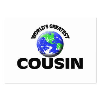 World's Greatest Cousin Business Card Template