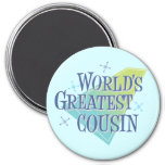 World's Greatest Cousin Refrigerator Magnets