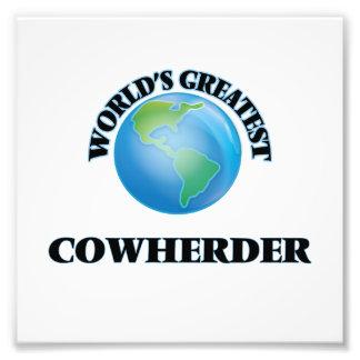World's Greatest Cowherder Photo Print