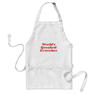 Worlds Greatest Coworker Adult Apron