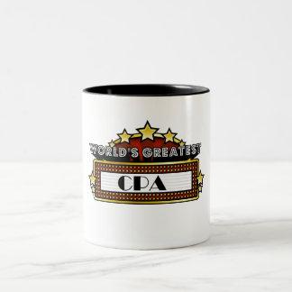 World's Greatest CPA Two-Tone Coffee Mug