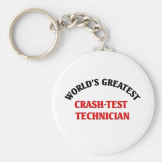 World's greatest crast-test techician key chain