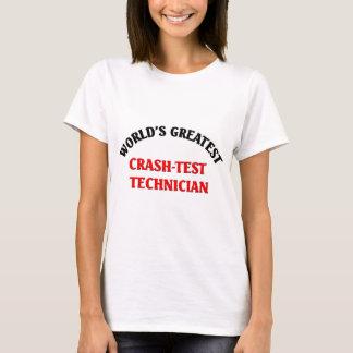 World's greatest crast-test techician T-Shirt
