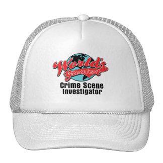 Worlds Greatest Crime Scene Investigator Hat