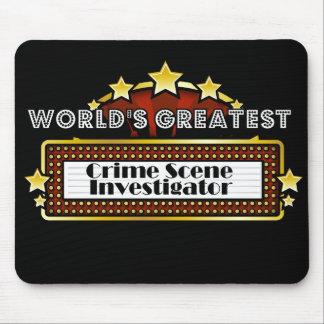 World's Greatest Crime Scene Investigator Mouse Pad