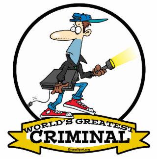 WORLDS GREATEST CRIMINAL MEN CARTOON ACRYLIC CUT OUTS