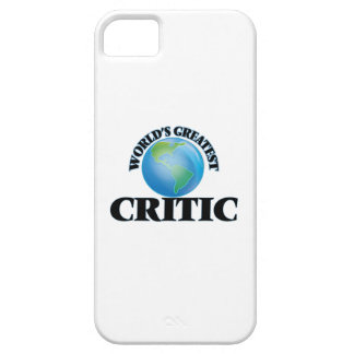 World's Greatest Critic iPhone 5 Covers