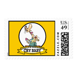 WORLDS GREATEST CRY BABY CARTOON POSTAGE