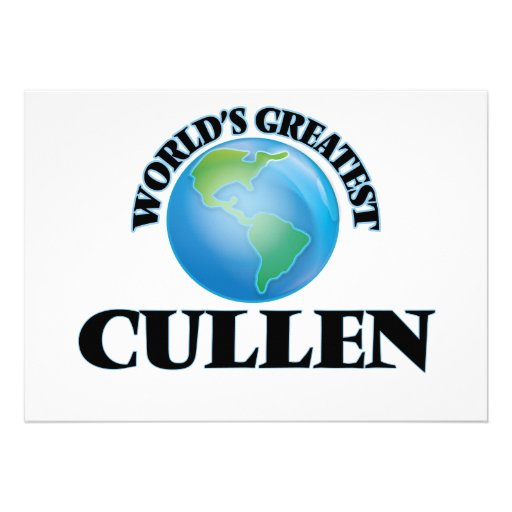 World's Greatest Cullen Cards