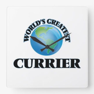 World's Greatest Currier Wall Clock