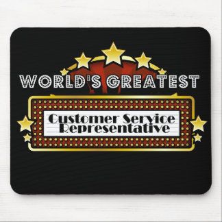 World's Greatest Customer Service Representative Mousepads
