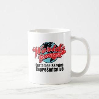 Worlds Greatest Customer Service Representative Coffee Mugs