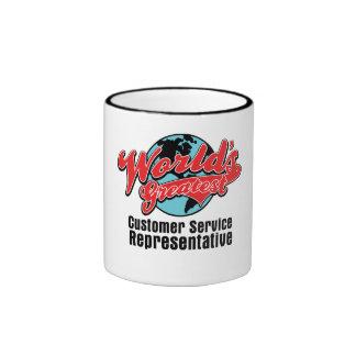 Worlds Greatest Customer Service Representative Coffee Mug