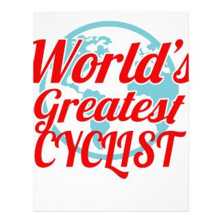 World's Greatest Cyclist Letterhead