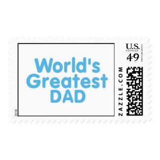 Worlds Greatest DAD..1 Stamp