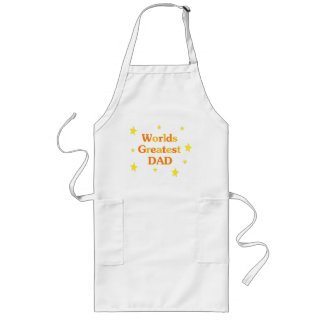 Worlds Greatest Dad Long Apron