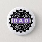 World's Greatest Dad Award | Mini Brothers Button