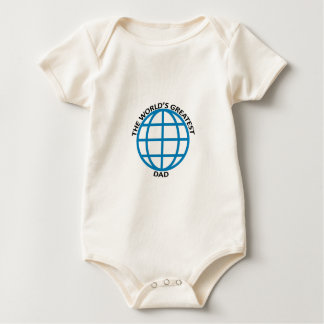 World's Greatest dad Baby Bodysuit