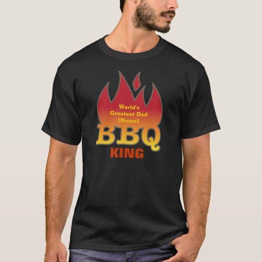 World's Greatest Dad BBQ KING T-Shirt