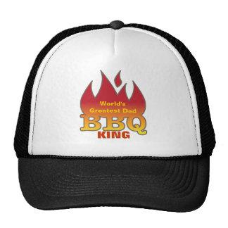 World's Greatest Dad BBQ KING Trucker Hat