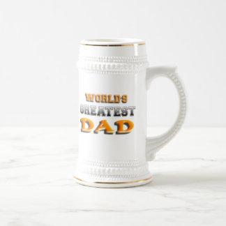 World's Greatest Dad Beer Stein