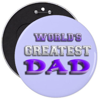World's Greatest Dad Button