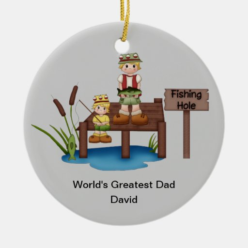 World's Greatest Dad Christmas Ornament