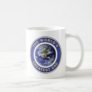 Worlds greatest Dad Classic White Coffee Mug