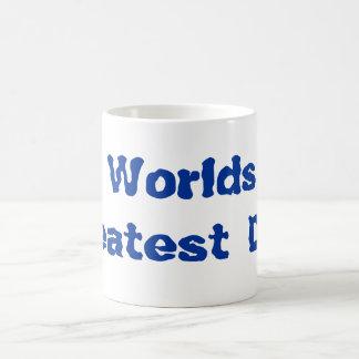 Worlds Greatest Dad! Classic White Coffee Mug