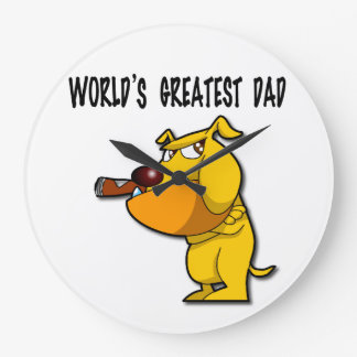 World's Greatest Dad Clock