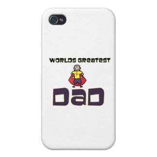 Worlds Greatest Dad Cover For iPhone 4