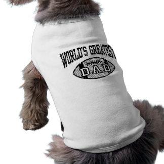 World's Greatest Dad Dog T Shirt