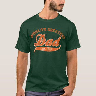 World's Greatest Dad, EST. 199? T-Shirt