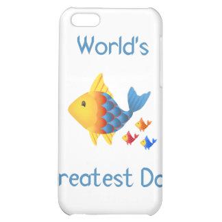 World's Greatest Dad (fish) iPhone 5C Case