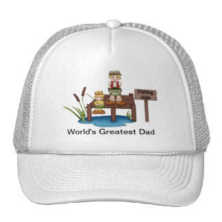 World's Greatest Dad Fishing Hat
