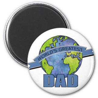 World's Greatest Dad Fridge Magnets