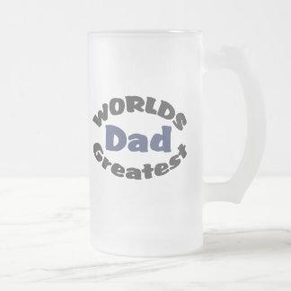 Worlds Greatest Dad Frosty Beer Mug